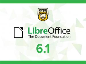 LibreOffice 6.1 sürümü yayınlandı